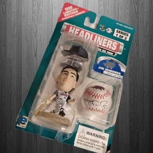 Jim Edmonds Figurine And Ball Headliners.